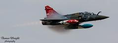 Couteau Delta Mirage 2000 (Thomas Wraight) Tags: raffairford riat royalinternationalairtattoo airtattoo airshow riat2018 mirage mirage2000 dassaultmirage dassaultmirage2000 dassaultaviation multirolecombataircraftfightergroundattackdisplayroledemocouteaudeltafrenchairforcearméedelairfrenchmilitaryaviationaircraftflightplanewarbirdsmilitarymilitaryaircraftcombataircraftcombatjetfastjetsuperso dslr