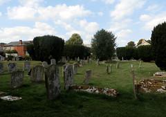 St Peter and St Paul's Church, Clare, Suffolk (beery) Tags: clare suffolk church stpeter stpaul england graveyard churchyard cemetery headstone