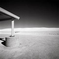 White Sands National  Monument. NM 88310 (Terrorkitten) Tags: whitesandsnm131031usahp5009008 terrorkitten philbebbington whitesandsnationalmonument nm newmexico 88310 alamogordo hasselbladswcm swc swcm ilfordfilm hp5 roadtrip