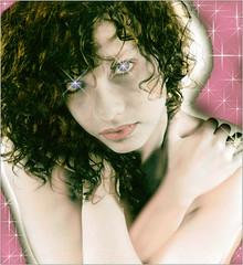 REMY LAURA 1993 (REMYRO) Tags: concept surréaliste sentiment noir et blanc colorisé portrait pétillant