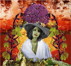 REMY NOEMIE VEGAN 2002 (REMYRO) Tags: femme couleurs matière concept surréaliste sentiment végan noir et blanc colorisé
