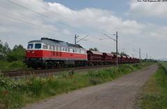 232 333 WFL Bielen 07.06.2019 (Falk Hoffmann) Tags: diesellok eisenbahn bahnhof güterzug wfl ludmilla br232 br132