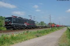 155 007 EBS Bielen 07.06.2019 (Falk Hoffmann) Tags: elok eisenbahn bahnhof güterzug ebs stromcontainer br155 br250