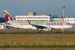 A7-AHY (Andras Regos) Tags: aviation aircraft plane fly airport bud lhbp spotter spotting qatar qatarairways airbus a320 morning dawn
