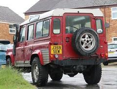 J359 SEW (Nivek.Old.Gold) Tags: 1992 land rover defender 110 tdi station wagon 2495cc landrovermancom