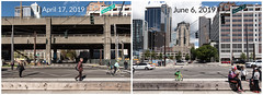 Before and after viaduct demolition at Spring Street (WSDOT) Tags: seattle gp construction wsdot alaskan way viaduct replacement demolition 2019 waterfront downtown