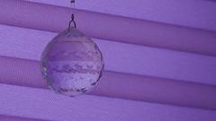 Mirrorball (theflyingtoaster14) Tags: mirrorball mirror ball kugel kristallkugel kristall lila streifen hell dunkel farbe glas glass olympus stylus 1 1s