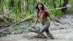 Extreme Girl \ Экстремалка. (Nitohap) Tags: экстрим девушка вода спорт грязь бег улыбка радость extreme girl water sport dirt run smile joy d850 70200 омск стальнойхарактер