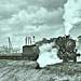 AEF Train going over the 'hill' leaving La Rochelle, France 10-12-18 NARA111-SC-57828