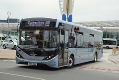 YX19ONV (PD3.) Tags: dday75 d day 75 portsmouth pompey hampshire hants england uk united kingdom president trump queen wwii ww ii southsea cosham park ride xelabus bus buses common world war 2 adl enviro 200 yx19onv yx19 onv