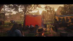 Where the stories are told (Skinny LSD) Tags: red dead redemption 2 videogame lovuguys photo ps4 rockstar art paint filmphotography cinematic western westworld wallpaper cowboy campfire light