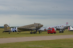 Dakotas at Daks over Duxford (Mark_Aviation) Tags: dakotas daks over duxford c47 aces high c53 spirit benovia dc3 iwm egsu aerodrome imperial air museum douglas usa usaaf raf