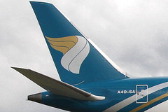 A40-SA OMAN AIR BOEING 787-8 DREAMLINER (Roger Lockwood) Tags: a40sa omanair boeing787 dreamliner manchesterairport man egcc