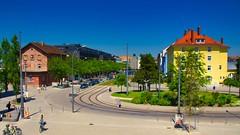 München Moosach (Chridage) Tags: münchen munich moosach streetphotography strasenbahn trambahn tram bahnhof bayern bavaria