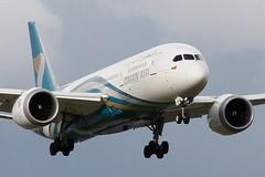 A40-SA OMAN AIR BOEING 787-8 DREAMLINER (Roger Lockwood) Tags: a40sa omanair boeing787 dreamliner manchesterairport egcc man