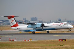 """""""Niederösterreich"""" Austrian Airlines OE-LGF De Havilland Canada DHC-8-402Q Dash 8 cn/4068 @ EDDF / FRA 17-09-2016 (Nabil Molinari Photography) Tags: niederösterreich austrian airlines oelgf de havilland canada dhc8402q dash 8 cn4068 eddf fra 17092016"""