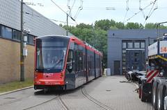 07.06.2019 (XXIII); Aankomst Avenio 5061 (chriswesterduin) Tags: htm avenio siemens 5061 denieuwestadstram tram strassenbahn meppelwerf