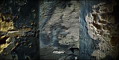 009341 (onesecbeforethedub) Tags: vilem flusser technical images onesecbeforetheend onesecbeforethedub onesecaftertheend photoshop multiple exposure collage malta edinburgh contemporaryart streamofconsciousness details rust decay industrial anthropomorphism anthropocene triptych