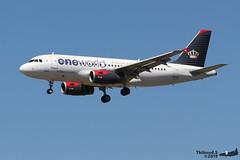 Airbus A319 -132 ROYAL JORDANIAN JY-AYP 3238 Francfort juin 2019 (Thibaud.S.) Tags: airbus a319 132 royal jordanian jyayp 3238 francfort juin 2019 oneworld livery