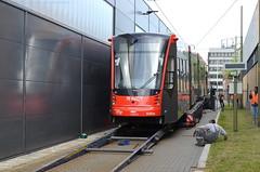 07.06.2019 (XVIII); Aankomst Avenio 5061 (chriswesterduin) Tags: htm avenio siemens 5061 denieuwestadstram tram strassenbahn meppelwerf