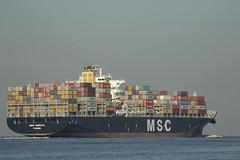 MSC SORAYA - Nieuwe Waterweg - Hoek van Holland (Jan de Neijs Photography) Tags: ship vessel zuidholland holland nederland thenetherlands dieniederlande southholland tamron150600g2 tamron tamron150600 150600 g2 schiff maasvlakte rotterdam hoekvanholland boot denieuwewaterweg waterweg sea maasmond hvh containership containers containerreus containerschiff mscsoraya imo9372494 9372494 msc boat nieuwewaterweg panama vrachtschip zeecontainers dehoek noordzee northsea