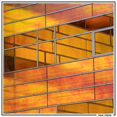 Square defense (imaGilaire) Tags: netherlands architecture architecte unstudio almere lignes lines abstract reflet windows imagilaire 2019