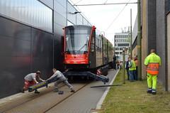 07.06.2019 (XVI); Aankomst Avenio 5061 (chriswesterduin) Tags: htm avenio siemens 5061 denieuwestadstram tram strassenbahn meppelwerf