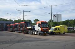 07.06.2019 (VIII); Aankomst Avenio 5061 (chriswesterduin) Tags: htm avenio siemens 5061 denieuwestadstram tram strassenbahn meppelwerf