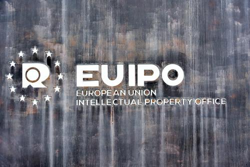 EUIPO logo at building