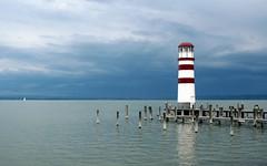 Lake Neusiedl (Wolfgang Bazer) Tags: lake neusiedl neusiedler see podersdorf leuchtturm lighthouse burgenland österreich austria