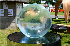 Water Globe A Watery World. Weekly Alphabet Challenge Week #23 Water (bokosphotos) Tags: panasonic panasonicg9 leicadg128401260 lumixg ardinglyshowground southofenglandshow affinityphoto affinity affinityborders wisforwater taken6thjune2019