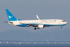 XIAMEN AIR B737-800(WL) B-6482 0011 (A.S. Kevin N.V.M.M. Chung) Tags: aviation aircraft aeroplane airport airlines plane boeing b737 b737800wl xiamenairlines macauinternationalairport mfm spotting landing flying