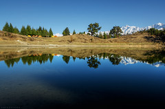 Campers by the lake - Deoriyatal (CoSurvivor) Tags: chopta valley uttarakhand himalayas himalaya reflection water hike trek forest garhwal india incredibleindia mountains peaks nature landscape natgeotravel indiapictures lonelyplanetindia explore travel photography cosurvivor
