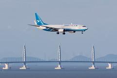 XIAMEN AIR B737-800(WL) B-1911 001 (A.S. Kevin N.V.M.M. Chung) Tags: aviation aircraft aeroplane airport airlines plane boeing b737 b737800wl xiamenairlines macauinternationalairport mfm spotting landing flying