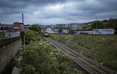 Clay By The Tay. (-Metal-M1KE-) Tags: dundee oxwellmainslafargecolastocraiginchesaberdeencra chinaclay colas colasrail colasrailfreight ge generalelectric