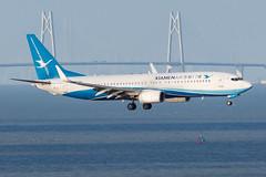 XIAMEN AIR B737-800(WL) B-1911 002 (A.S. Kevin N.V.M.M. Chung) Tags: aviation aircraft aeroplane airport airlines plane boeing b737 b737800wl xiamenairlines macauinternationalairport mfm spotting landing flying