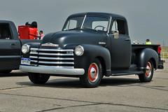 1952-53 Chevy split window pickup (skyhawkpc) Tags: 2018 kftg ftg frontrangeairport watkins colorado co nikon allrightsreserved garyverver copyright 1952 1953 chevy chevrolet pickup truck