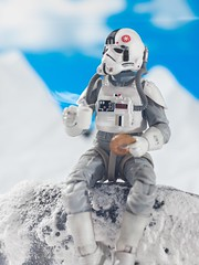 Even on Hoth it's National Donut Day! (thereeljames) Tags: stormtrooper toyphotography actionfigures canon toyphotographers toys hoth food donut starwars