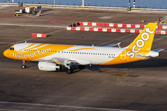 Scoot A320-232 9V-TRU 001 (A.S. Kevin N.V.M.M. Chung) Tags: aviation aircraft aeroplane airport airlines airbus a320 plane spotting macauinternationalairport mfm