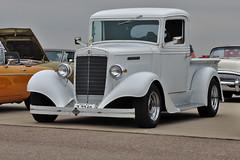 1937 IH pickup truck (skyhawkpc) Tags: 2018 kftg ftg frontrangeairport watkins colorado co nikon allrightsreserved garyverver copyright 1937 ih internationalharvester pickup truck
