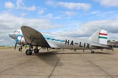 HA-LIX Lisunov Li-2 (R.K.C. Photography) Tags: halix lisunov li2 goldtimerfoundation malev russian daksoverduxford daksovernormandy hungary aircraft aviation classic propliner duxford england iwm canoneos100d cambridgeshire unitedkingdom uk