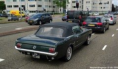 Ford Mustang convertible 1965 (XBXG) Tags: dm9760 ford mustang convertible 1965 fordmustang v8 cabriolet cabrio roadster tourer muntbergweg amsterdam zuidoost nederland holland netherlands paysbas vintage old classic american car auto automobile voiture ancienne américaine us usa vehicle outdoor