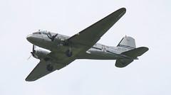 SE-CFP EGSU 040619 (kitmasterbloke) Tags: egsu duxford daksoverduxford dc3 douglas c47 c53 aircraft airliner propliner ww2 dday