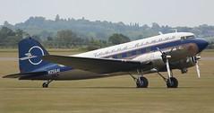 N25641 DC3 full side EGSU 050619 (kitmasterbloke) Tags: egsu duxford daksoverduxford dc3 douglas c47 c53 aircraft airliner propliner ww2 dday