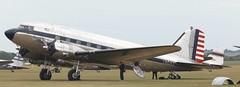 N341A EGSU 050619 (kitmasterbloke) Tags: egsu duxford daksoverduxford dc3 douglas c47 c53 aircraft airliner propliner ww2 dday