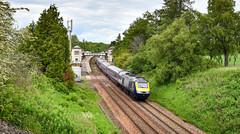 43168 sweeps past Gleneagles (robmcrorie) Tags: 43168 class 43 scotrail hst high speed train intercity 125 1z10 gleneagles station nikon d850