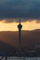Macau Tower 002 (A.S. Kevin N.V.M.M. Chung) Tags: macau tower evening