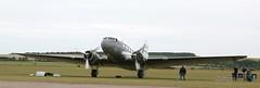 N33611 DC3 EGSU 040619 (kitmasterbloke) Tags: egsu duxford daksoverduxford dc3 douglas c47 c53 aircraft airliner propliner ww2 dday