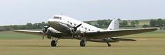 N18121 DC3 EGSU 050619 (kitmasterbloke) Tags: egsu duxford daksoverduxford dc3 douglas c47 c53 aircraft airliner propliner ww2 dday