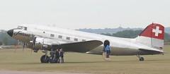 N431HM DC3 EGSU 050619 (kitmasterbloke) Tags: egsu duxford daksoverduxford dc3 douglas c47 c53 aircraft airliner propliner ww2 dday